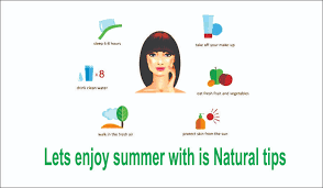 Lets enjoy Summer with is natural tips