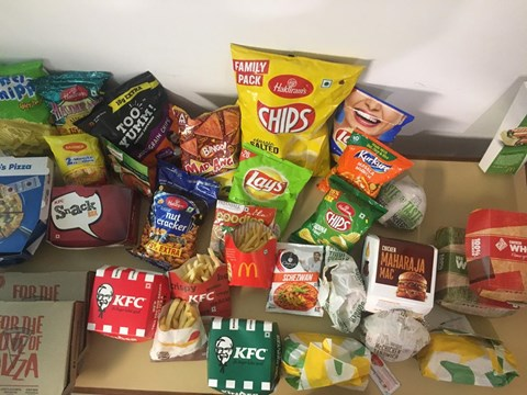 Beware of Packed chips,Pizzas and Burgers :A CSE Lab Report