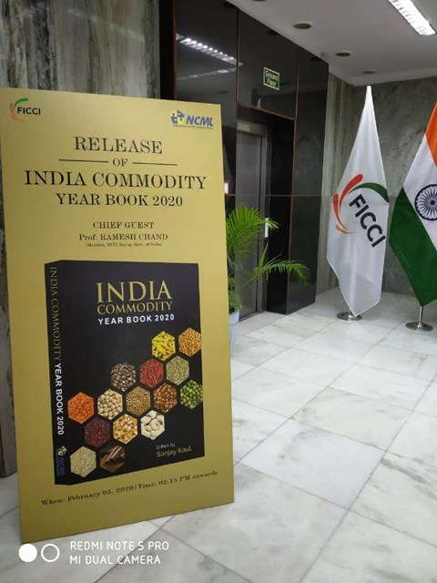 NCML and FICCI Releases 11th Edition of India Commodity Year Book 2020