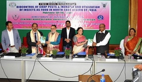 Workshop on Bio-control and Utilization of Insects for North-East India