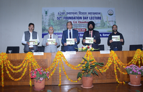 Central Soil Salinity Research Institute Celebrates 52nd Foundation Day