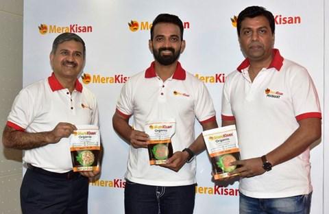 Ajinkya Rahane to be the Brand Ambassador of MeraKisan
