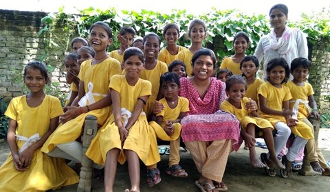 The Good Harvest School, an All Girls Agri –Rural School in UP
