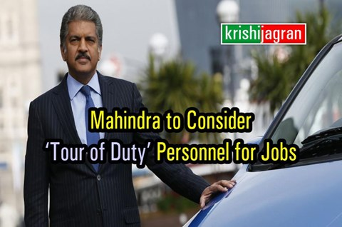 Big News! Mahindra May Hire Civilians Who Join Army for 3 Years
