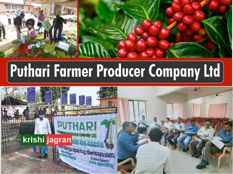 Puthari Farmer Producer Company Ltd, Financially Funded by NABARD and Technically Supported by KVK,  an Incredible support to KODAGU farmers !