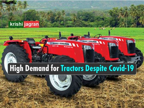 Uprising Demand for Tractors Owing to Skyrocketing Growth of Agriculture Sector