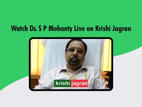 Krishi Jagran FB LIVE: In Conversation with Dr. S P Mohanty of HIL India on 'Agrochemical Industries Opportunities after COVID19'