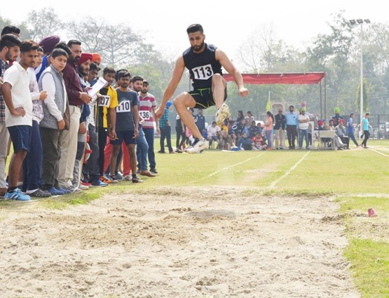 report on annual athletic meet