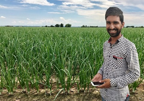 This Mobile App by 4 IIT & IIM pass-outs, is multiplying farm yields by 40%
