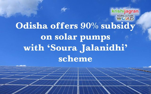 Odisha offers 90% subsidy on solar pumps with 'Soura