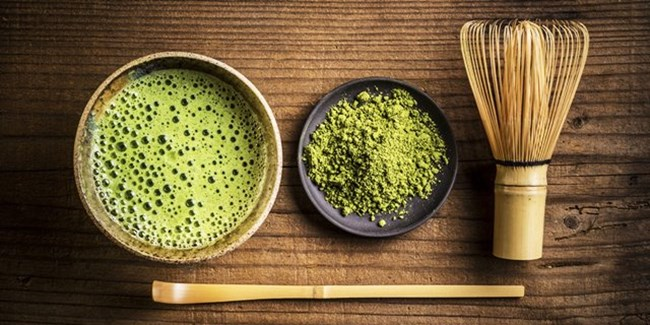 'Matcha' Green tea for a greener day